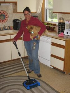 2.Speedy Sweep Sweeper Cordless